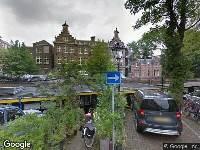 112 melding Ambulance naar Nieuwe Prinsengracht in Amsterdam