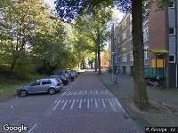 112 melding Brandweer naar Van Mourik Broekmanstraat in Amsterdam