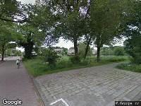 112 melding Brandweer naar Beukenstraat in Leeuwarden vanwege gebouwbrand