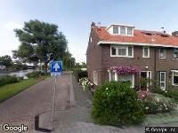 Ambulance naar Watermolenstraat in Westzaan