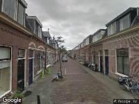 112 melding Ambulance naar Rijndijkstraat in Leiden