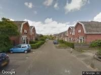 112 melding Brandweer naar Auke Stellingwerfstraat in Leeuwarden vanwege verkeersongeval