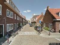 112 melding Brandweer naar Grevenstraat in Leiden vanwege afgaan rookmelder
