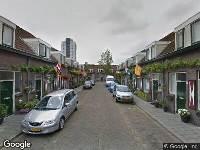 112 melding Ambulance naar Patrimoniumdwarsstraat in Vlaardingen
