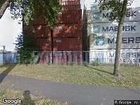 Ambulance naar Droogdokweg in Rotterdam