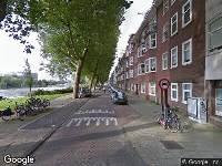 Ambulance naar Westlandgracht in Amsterdam