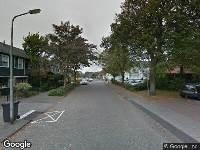 112 melding Brandweer naar Dokter Brugmanstraat in Uitgeest