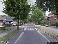 112 melding Ambulance naar Tilburgseweg in Oisterwijk
