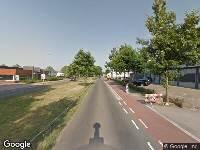 Brandweer naar Liessentstraat in Uden vanwege brand