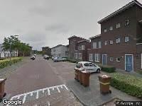 112 melding Brandweer naar Groen van Prinstererstraat in Breda vanwege reanimatie
