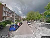 112 melding Ambulance naar Oppenheimstraat in Leiden