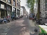 112 melding Brandweer naar Spui in Amsterdam vanwege brand