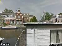 112 melding Besteld ambulance vervoer naar Nieuwe Rijn in Leiden