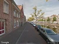 112 melding Brandweer naar Elisabeth Gasthuishof in Leiden vanwege brand