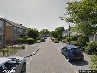 Ambulance naar Verschuurstraat in Oosterhout
