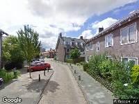112 melding Brandweer naar Appelstraat in Leiden