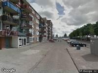 Brandweer naar Slamatstraat in Rotterdam vanwege brand
