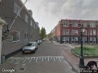112 melding Ambulance naar Kaarsenmakersstraat in Leiden