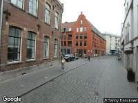 Brandweer naar Nieuwstraat in Breda