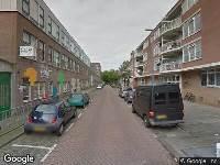 Ambulance naar Lieve Verschuierstraat in Rotterdam