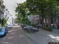Ambulance naar Vondelstraat in Amsterdam