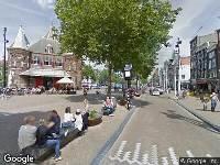 112 melding Ambulance naar Nieuwmarkt in Amsterdam