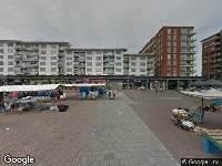 Ambulance naar Markt in Papendrecht
