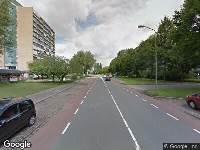 Ambulance naar Maarten Harpertsz. Trompweg in Dordrecht