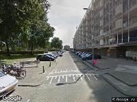 Brandweer naar Sint-Janshaven in Rotterdam