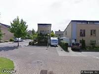 112 melding Brandweer naar De Goeijenmarke in Zwolle