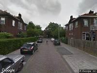112 melding Ambulance naar Wolbrandsstraat in Dordrecht vanwege brand