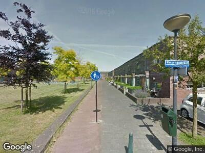 Ambulance naar Tallinnhof in 's-Gravenhage