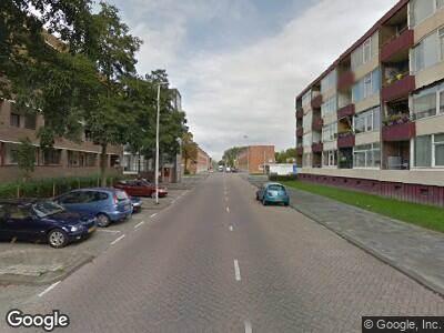 Ambulance naar Krabbendijkestraat in Rotterdam