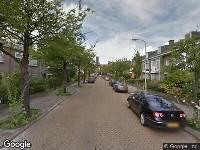 Ambulance naar Paulinastraat in 's-Gravenhage