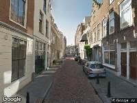 Traumahelikopter naar Lombardstraat in Dordrecht