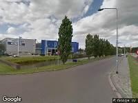 112 melding Brandweer naar Huifakkerstraat in Breda