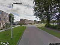Brandweer naar Prins Bernhardstraat in Burgum