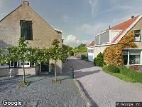 112 melding Brandweer naar Poldersweegje in Dirksland vanwege brand