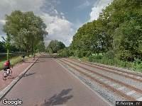 Traumahelikopter naar Delftweg in Rijswijk