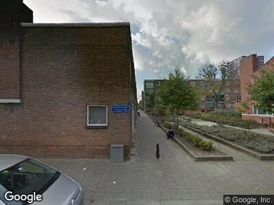 Ambulance naar Fijnaartpad in Rotterdam