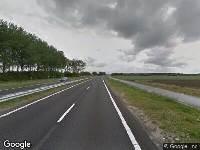 112 melding Brandweer naar Hoofdweg in Hoek vanwege voertuigbrand