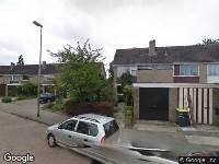 112 melding Ambulance naar Frans Halsstraat in Oud-Beijerland