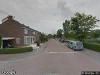 Ambulance naar Heemskerkstraat in Gouda
