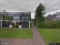 112 melding Brandweer naar Johannes Vermeerstraat in Spijkenisse vanwege verkeersongeval