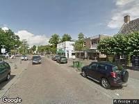 Brandweer naar Dorpstraat in Ulvenhout
