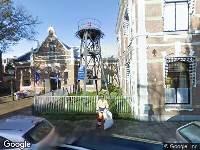 Brandweer naar Neptunusstraat in 's-Gravenhage vanwege brand