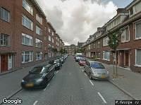 Brandweer naar Landmanstraat in Rotterdam