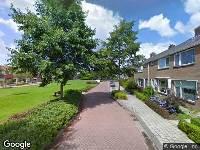 Brandweer naar Allert Jacob van der Poortstraat in Dokkum vanwege verkeersongeval