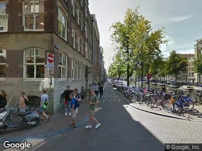 Ambulance naar Keizersgracht in Amsterdam