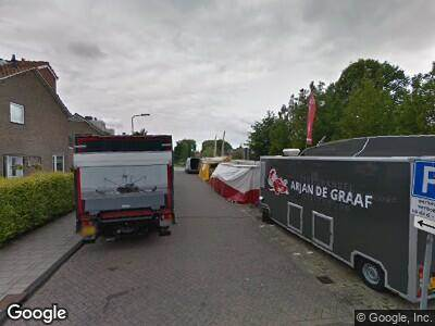 Ambulance naar Slot de Houvelaan in Maasland